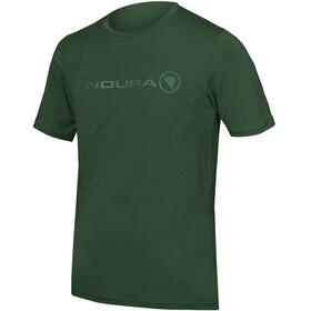 Endura SingleTrack Merino T-Shirt Herren forestgreen